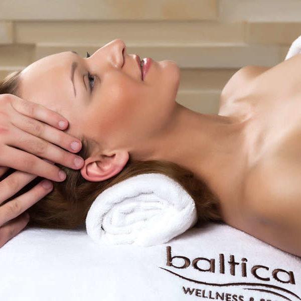 Baltica wellness spa szczecin - odżywczy masaż twarzy