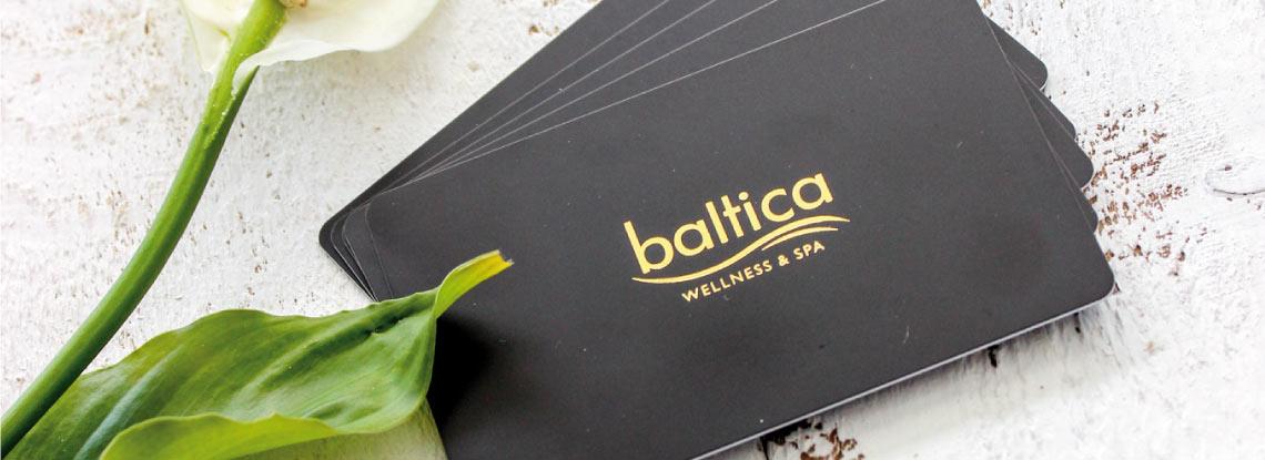 Baltica Wellness Spa - karta lojalnościowa